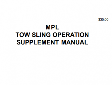 MPL Tow Sling Operation