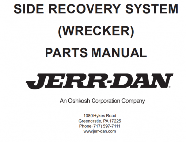 Side Recovery System (Composite Body Wrecker)